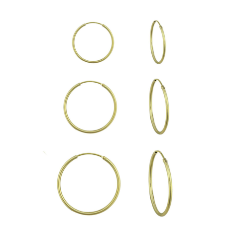 A Little Hoop Earring Gold