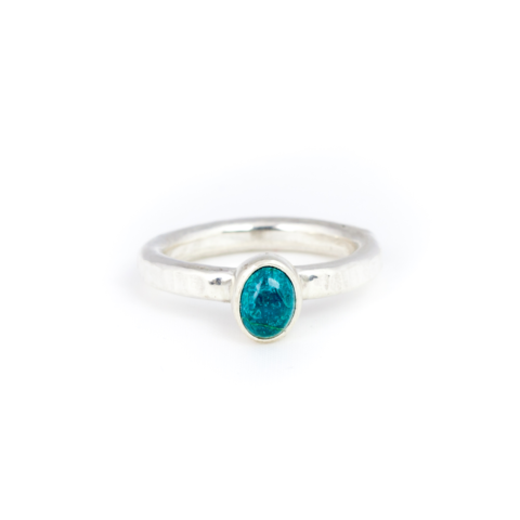 Claire The Criminal - Chrysocolla Handmade Ring