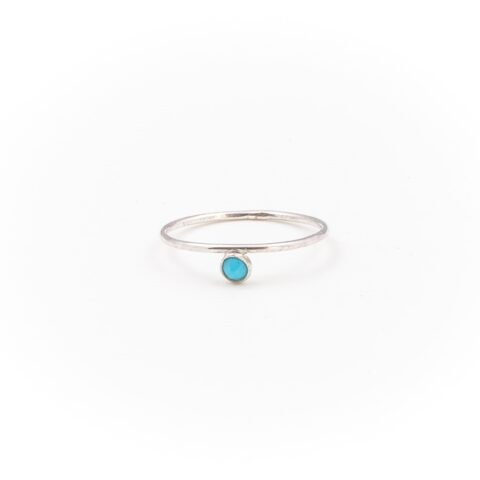 Jess The Mess - Turquoise Silver