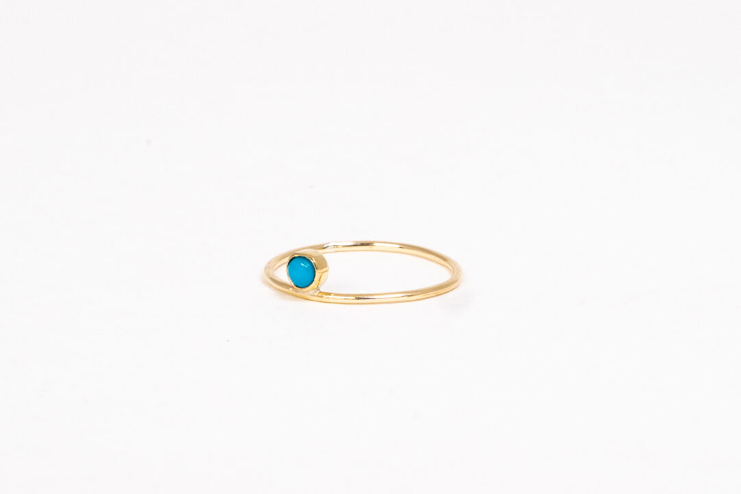 Jess The Mess - Turquoise 14k
