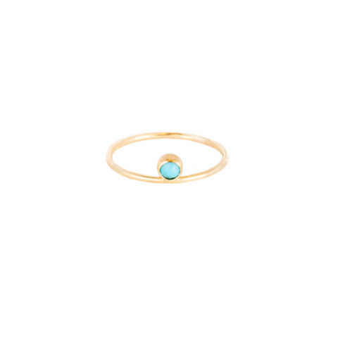Jess The Mess - Turquoise 14k a little lem