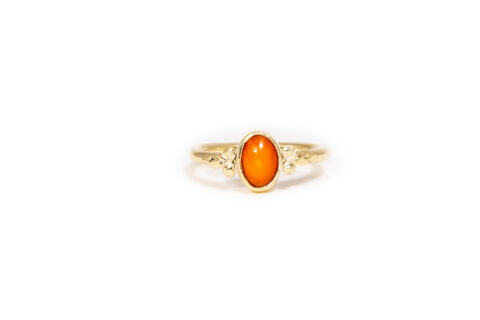 hoebe The Phenomanal - Red Coral 14k