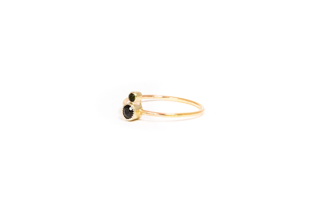 Philine The Piece Of Cake - Green Tourmaline Rose Gold