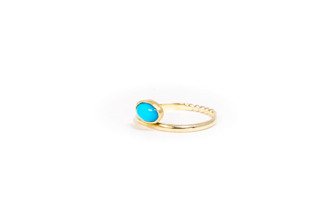 Philine The Piece Of Cake - Turquoise 14k