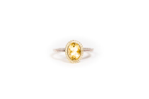 November Birthstone Ring - Citrine