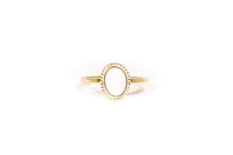 October Birthstone Ring - Opal