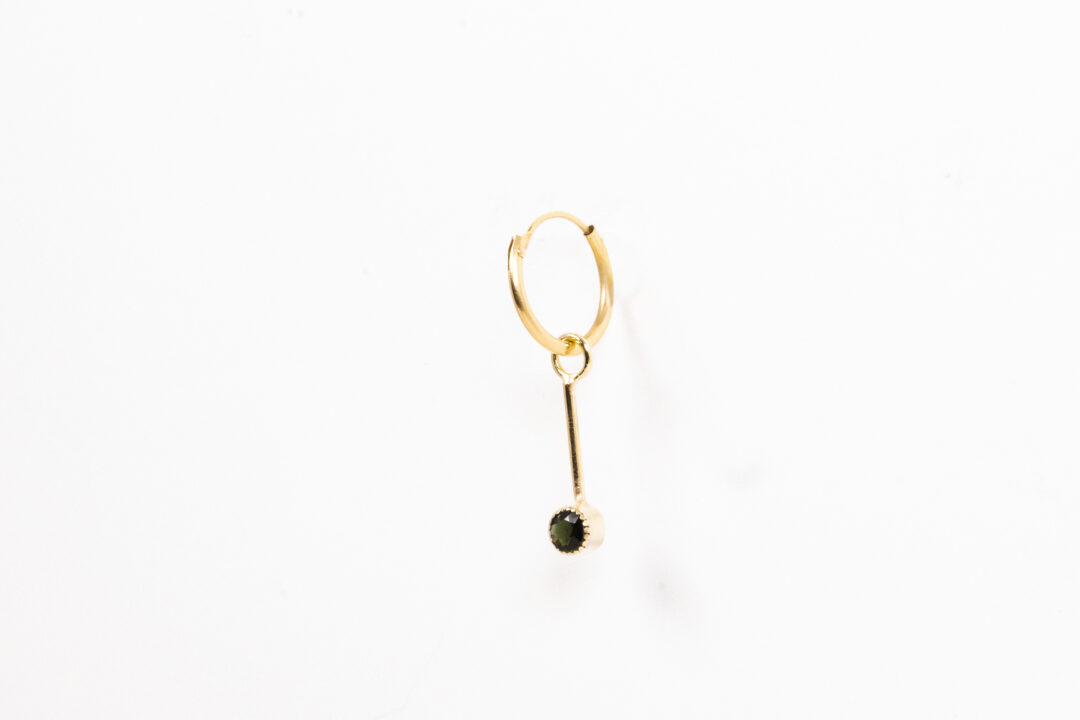 Deb The Desperado - Green Tourmaline 14k